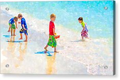 A Summer To Remember II Acrylic Print by Susan Molnar