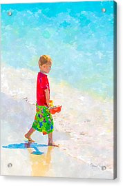 A Summer To Remember IIi Acrylic Print by Susan Molnar