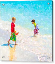 A Summer To Remember V Acrylic Print by Susan Molnar