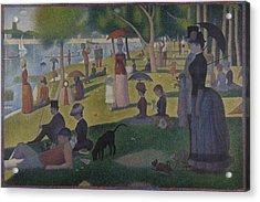 A Sunday On La Grande Jatte Acrylic Print by Georges Seurat