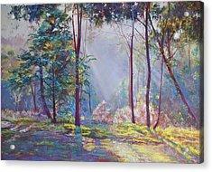 A Symphony Of Bush Colours Acrylic Print by Lynda Robinson