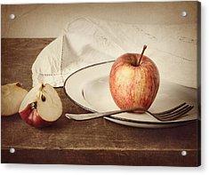 A Taste Of Autumn Acrylic Print by Amy Weiss