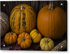 A Thankful Harvest Acrylic Print by Garry Gay