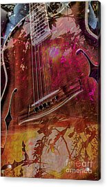 A Tune In The Woods By Steven Langston Acrylic Print by Steven Lebron Langston