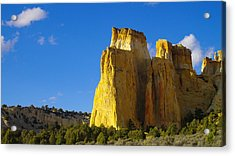 A View In The Grand Escalante Staircase Acrylic Print by Jeff Swan
