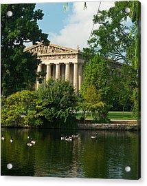 A View Of The Parthenon 17 Acrylic Print by Douglas Barnett