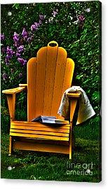 A Well Deserved Rest Acrylic Print by Randi Grace Nilsberg