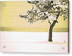 A Winter Moment Acrylic Print by Karol Livote