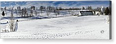 A Winters Day Acrylic Print by Bill Wakeley