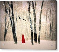 A Winters Tale Acrylic Print by Jessica Jenney