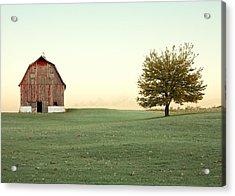 A Wisconsin Postcard Acrylic Print by Todd Klassy