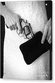 A Woman Scorned Acrylic Print by Edward Fielding