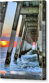 A Wrightsville Beach Morning Acrylic Print by JC Findley