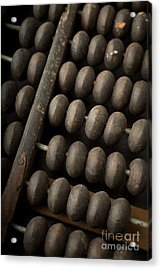 Abacus Acrylic Print by Edward Fielding