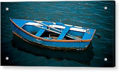 Abandoned Boat Acrylic Print by Frank Tschakert