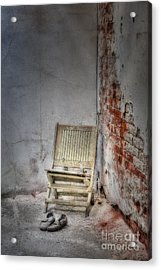 Abandoned But Not Forgotten Acrylic Print by Susan Candelario