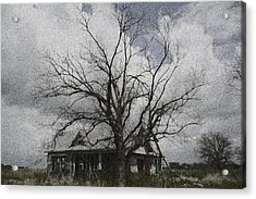 Abandoned House Acrylic Print by Donna G Smith