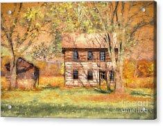Abandoned Acrylic Print by Lois Bryan