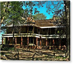 Abandoned Mansion Acrylic Print by Kristie  Bonnewell