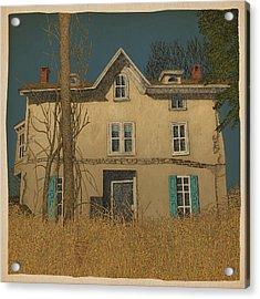Abandoned Acrylic Print by Meg Shearer