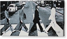 Abbey Road 2013 Acrylic Print by Luis Ludzska