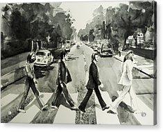 Abbey Road Acrylic Print by Bekim Art