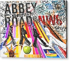 Abbey Road Acrylic Print by Mo T