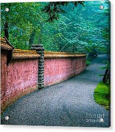 Abby Aldrich Rockefeller Garden Acrylic Print by Edward Fielding
