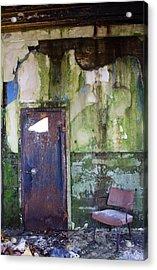 Aberdeen Chair Acrylic Print by Suzanne Lorenz