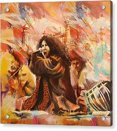 Abida Parveen Acrylic Print by Catf
