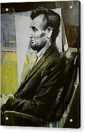 Abraham Lincoln 03 Acrylic Print by Corporate Art Task Force