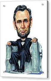 Abraham Lincoln Acrylic Print by Art