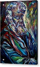 Abraham  Patriarch Acrylic Print by Carole Spandau