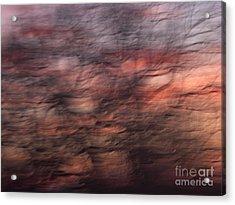 Abstract 10 Acrylic Print by Tony Cordoza