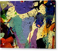 Abstract 11 Acrylic Print by John  Nolan