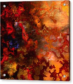 Abstract 21214a Acrylic Print by Daniel Mowry