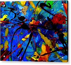 Abstract 39 Acrylic Print by John  Nolan