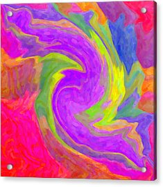 Abstract 44 Acrylic Print by Kenny Francis