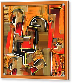 Abstract 973 Acrylic Print by Nedunseralathan R