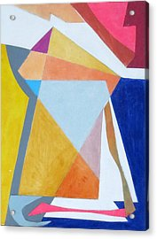Abstract Angles IIi Acrylic Print by Diane Fine