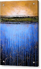 Abstract Art ... It Only Matters #3 Acrylic Print by Amy Giacomelli