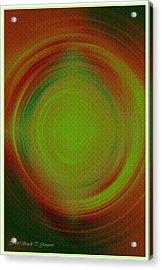 Abstract Art 3 Acrylic Print by Sonali Gangane