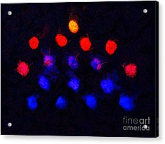 Abstract Balls #2 Acrylic Print by Pixel Chimp