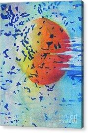 Abstract Acrylic Print by Chrisann Ellis