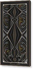 Abstract Door  Ad000002 Acrylic Print by Pemaro