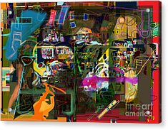 Tefilla Without Cavona 7b M Acrylic Print by David Baruch Wolk