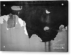 Abstract Fender I Acrylic Print by Dave Gordon