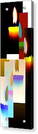 Abstract Fusion 185 Acrylic Print by Will Borden