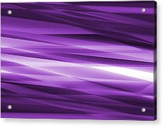 Abstract Modern Purple  Background Acrylic Print by Somkiet Chanumporn
