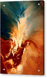 Abstract Original Art Escape By Kredart Acrylic Print by Serg Wiaderny
